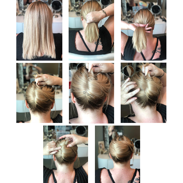 Back To School Easy Updo A Simple Twist You Can Do In 5 Minutes